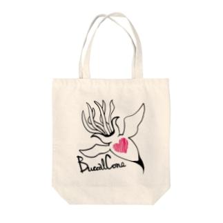 バッカルコーン Tote bags