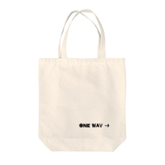 ONE WAY→ Tote Bag