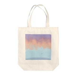 夕暮れ時 Tote bags