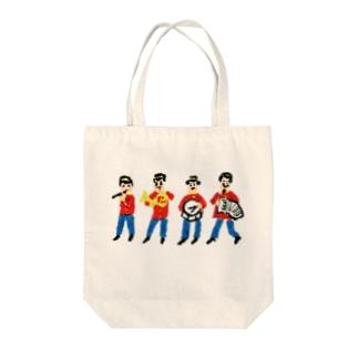 おんがく隊 Tote bags
