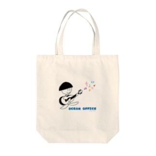 ギタークボちゃん Tote bags