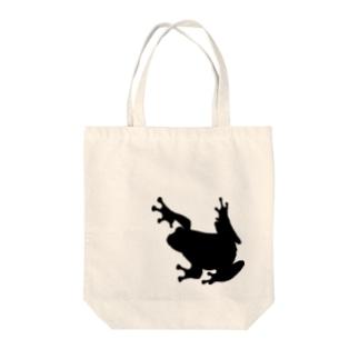 カエル【Frog】 Tote bags