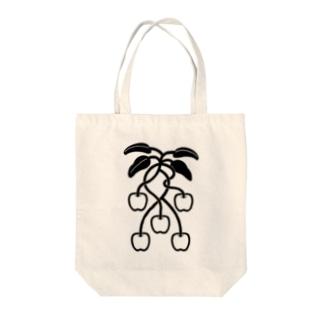 CHERRYAPPLE ❤︎ Tote bags