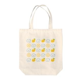 どすこいタロー(爽やかレモン) Tote bags