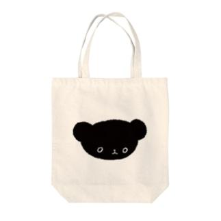 黒くま Tote Bag