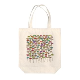 そらとぶ花 Tote bags