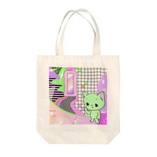 What is cute? メロンクリーム猫さん Tote bags