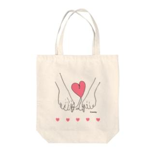 destiny &Heart Tote bags