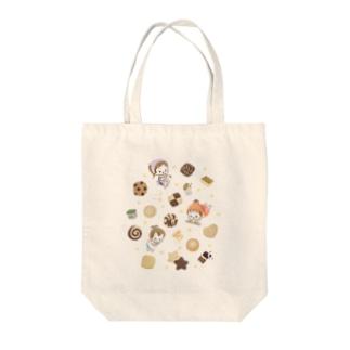 ムスメら(クッキー)  Tote bags