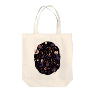 夜の森 Tote bags