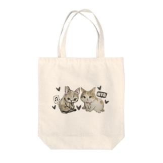チコサリーちゃん Tote bags