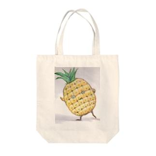 パイナポくん Tote bags