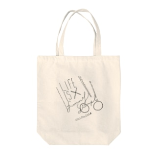 LIFE is Funny Simple Tote bags