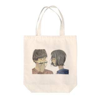 優しい人シリーズ Tote bags