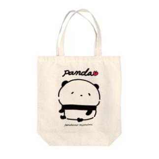 子パンダでちゅ Tote bags