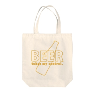 BEER takes my control. Tote bags