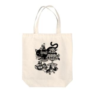 田舎のネズミと町のネズミ Tote bags