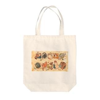 十猫十色 Tote bags