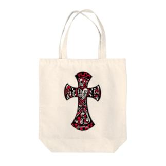 JESUS Tote bags