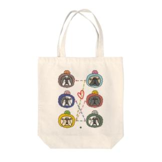 ブル号機オリジナルグッズ Tote bags