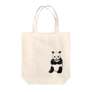 ぱんだくん Tote bags