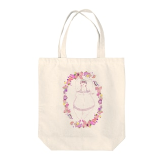 マシュマロフルーツ女子 Tote bags