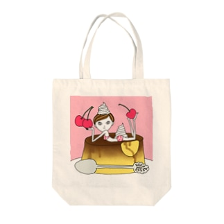 Cherryプリンガール Tote bags