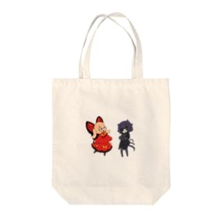 パミィ&チュチュ Tote bags