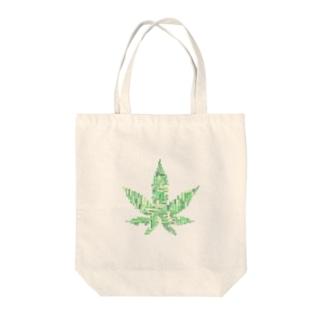 WEED Tote bags