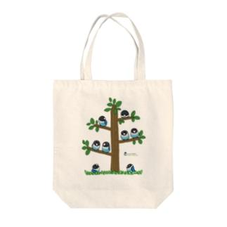 LOVEBIRD BOTAN Tree Tote bags