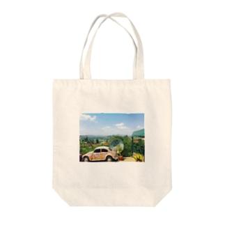 ルワンダの青 Tote bags