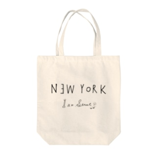 NEW YORK Tote bags