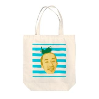 サティパイナポヘアシリーズ bikke作成 Tote bags