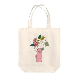クマの花瓶 Tote bags