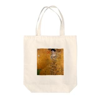 グスタフ・クリムト(Gustav Klimt) / 『アデーレ・ブロッホ=バウアーの肖像 I』(1907年) Tote Bag