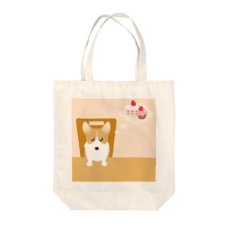 ウェルシュ・コーギー・ペンブローク Tote bags