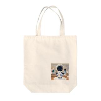 ブルーベリーレアチーズケーキの猫ちゃん Tote bags