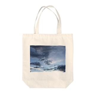 いつかの空のトート① Tote bags