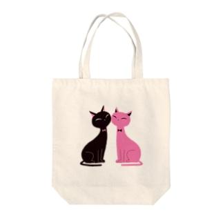 猫たち Tote Bag