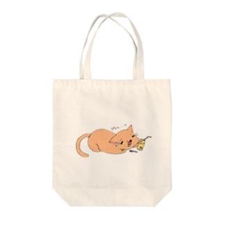 ぴぇん猫 Tote bags