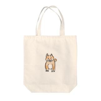 柴犬(おすわり) Tote bags