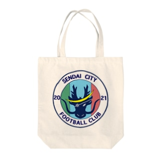 仙台シティFC オリジナルグッズ(エンブレム) Tote bags