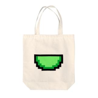 メロンアイコン Tote bags