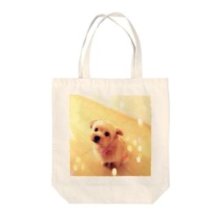 キラキラポメプーのココ Tote bags