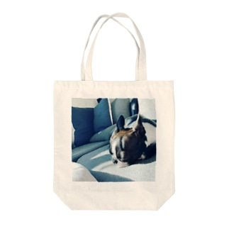 日向のボステリ女子 Tote bags