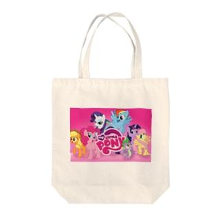 マイリトルポニー Tote bags