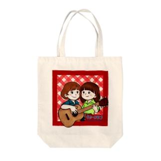 ギタークラブ Tote bags