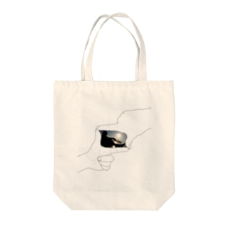 始発、岬にて Tote bags