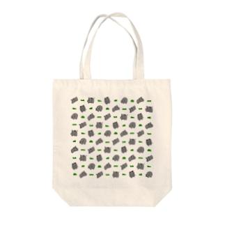 サイと草 Tote bags