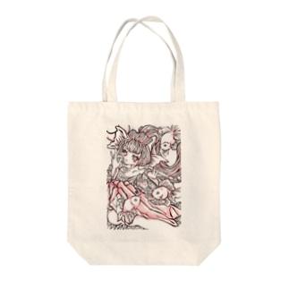 yukamimiの金魚姫の憂鬱。 Tote bags